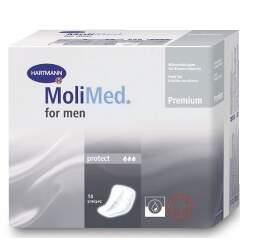 VLOŽKY ABSORPČNÍ MOLIMED FOR MEN PROTECT 620ML,14KS