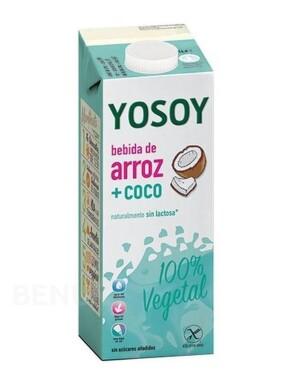Yosoy Rýžový nápoj kokos 1000 ml - II. jakost