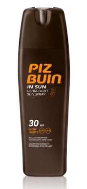 PIZ BUIN SPF30 IN SUN Ultra Light Spray 200ml