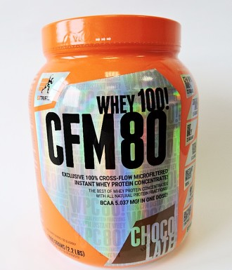 CFM Instant Whey 80 1000 g chocolate, Extrifit