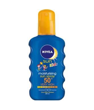 NIVEA SUN Dět.barev.spr. opalov.OF50 200ml č.85667
