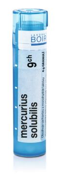 MERCURIUS SOLUBILIS 9CH granule 4G