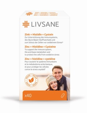LIVSANE Zinek + Histidin + Cystein tbl.40