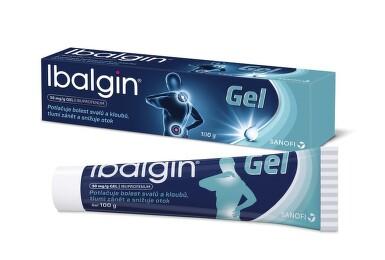 IBALGIN 50MG/G gely 100G