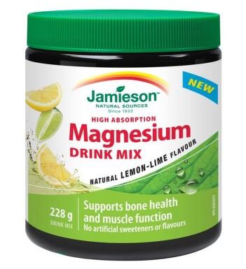 JAMIESON Hořčík DRINK MIX přích.citrón+limetka228g