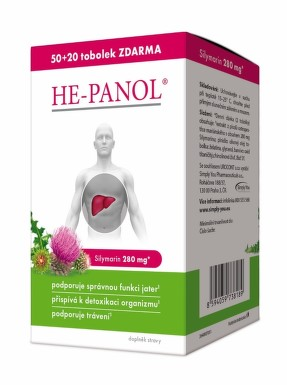 HE-PANOL tbl.50+20 ZDARMA
