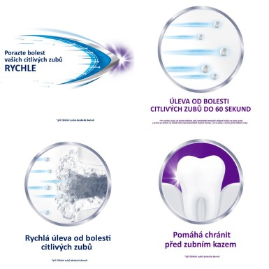 Sensodyne Rapid Extra Fresh zubní pasta 75 ml