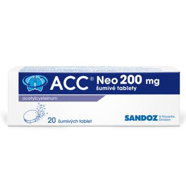 ACC 200 NEO perorální šumivá tableta 20X200MG