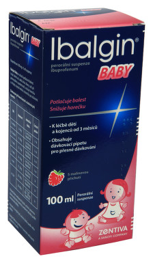 IBALGIN BABY perorální suspenze 1X100ML/2GM