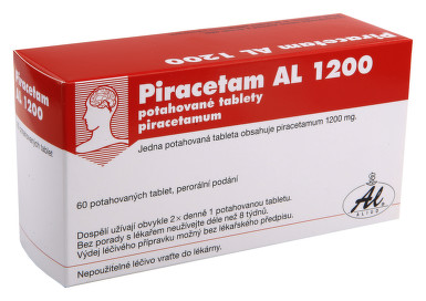 PIRACETAM AL 1200 perorální potahované tablety 60X1200MG