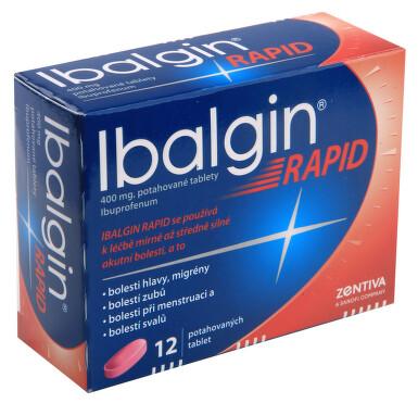IBALGIN RAPID perorální potahované tablety 12X400MG I