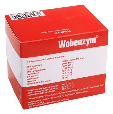 WOBENZYM perorální enterosolventní tableta 200