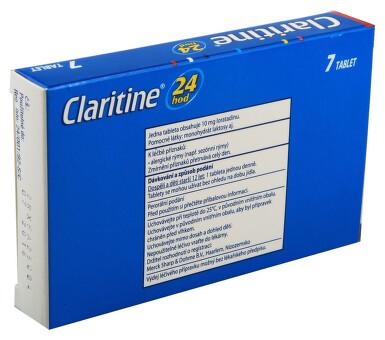 CLARITINE perorální neobalené tablety 7X10MG