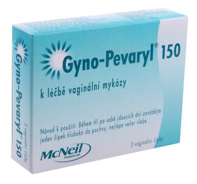 GYNO-PEVARYL 150 vaginální čípek 3X150MG