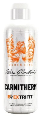 EXTRIFIT Carnitherm Women 1000ml Lemon ice tea