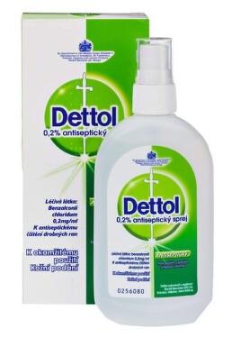 DETTOL 0,2 % ANTISEPTICKÝ SPREJ 0,2% kožní podání SPR SOL 1X100ML