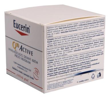 EUCERIN Q10 ACTIVE denní kr.pr.vráskám 50ml 63413