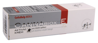 CutisHelp CANNABIOX E aktivní krém 50ml