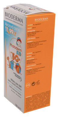 BIODERMA Photoderm KID lait SPF50+ 100ml