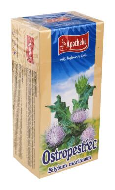 Apotheke Ostropestřec mariánský čaj 20x1.5g n.s.