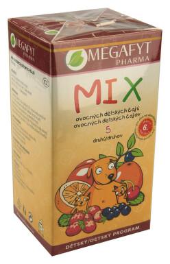 Megafyt MIX 5 druhů ovocných dětských čajů 20x2g