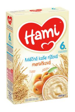 Hami kaše ml.rýžová s meruňkami 225g