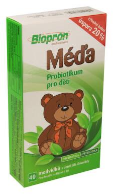 Biopron MÉĎA 40ks probiotických medvídků