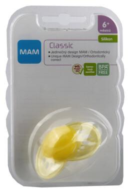 MAM Dudlík Classic 6+měsíců silikon1ks