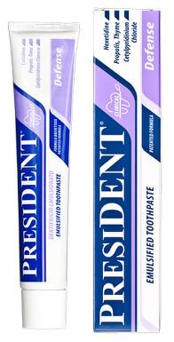 PresiDENT Zubní pasta Defense ochran.emulgov. 75ml