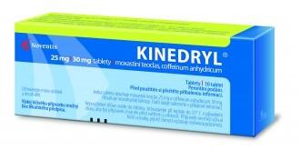 KINEDRYL perorální neobalené tablety 10