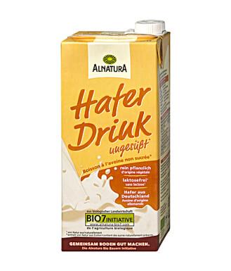 Alnatura Ovesný nápoj neslazený 1l