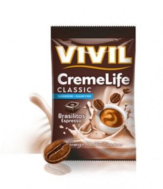 Vivil Creme life brasilitos espresso b.cukru 110g