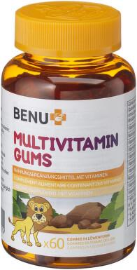 BENU Multivitamin GUMS 60ks