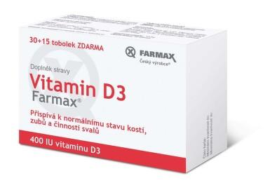 Vitamin D3 tob.30+15 ZDARMA