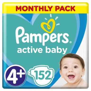 Active Baby Pampers Pleny  S4  152ks