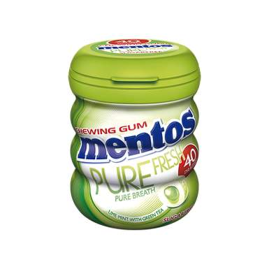 Mentos GUM PURE FRESH Lime Mint 60g drg.40