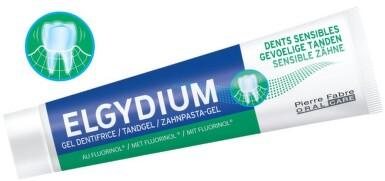 ELGYDIUM SENSITIVE gel.ZP s fluorinolem 75ml