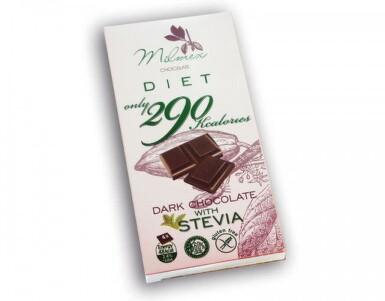 MILMEX Dark Chocolate 290 with Stevia 80g