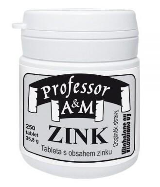 Professor A+C zinc tbl.250 Vitabalans