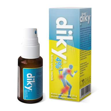 DIKY 4% 40MG/G kožní podání SPR SOL 25G