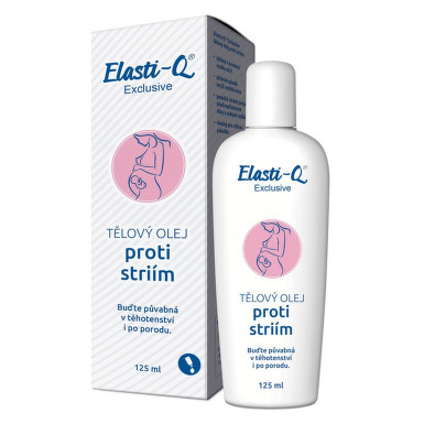 Elasti-Q Exclusive tělový olej proti striím 125ml
