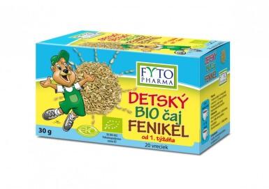 Dětský BIO čaj Fenykl 20x1.5g Fytopharma