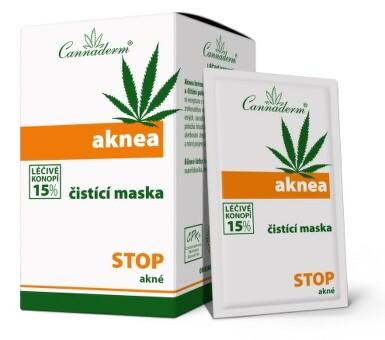 Cannaderm Aknea čistící maska 10x5.5g