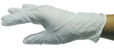 NITRICARE white Rukavice vyš.bez pudru vel.XL100ks