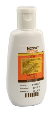 NIZORAL kožní podání šampon 60ML 2%