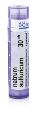 NATRUM SULFURICUM 30CH granule 4G