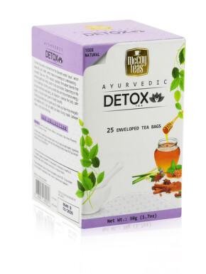 McCoy Teas Ajurvédský zelený detoxikační čaj 25x2g
