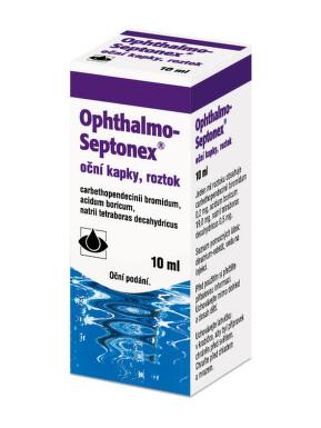OPHTHALMO-SEPTONEX oční podání GTT SOL 1X10ML PLAST