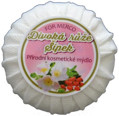 Přírodní kosmetické mýdlo DIVOKÁ RŮŽE & ŠÍPEK 100g