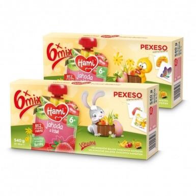 Hami příkrm OK Velikonoční balení 6x90g
